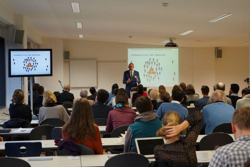 Konferenz 2018 Vortrag von Prof. Dr. Patrick Donges