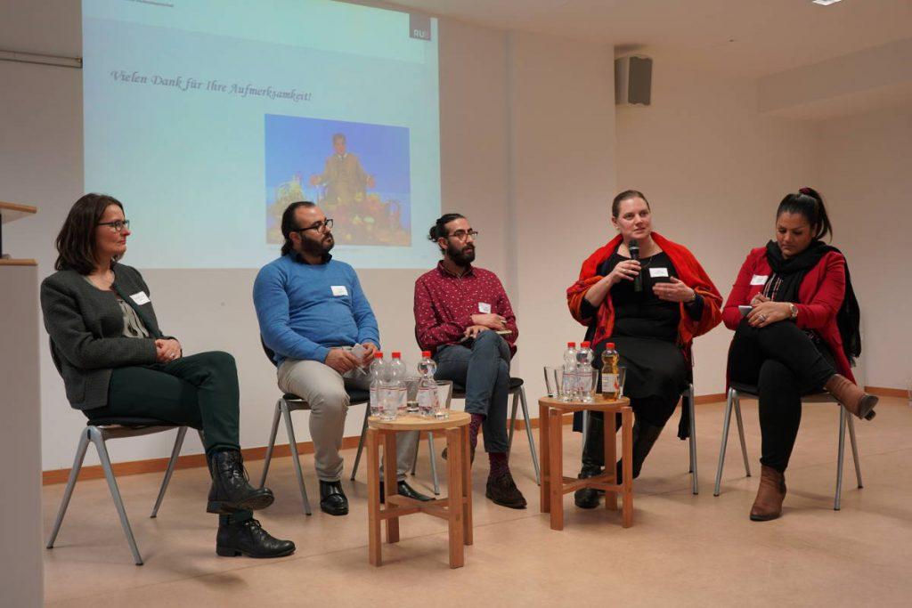Konferenz 2018 Diskussionsrunde Partizipation