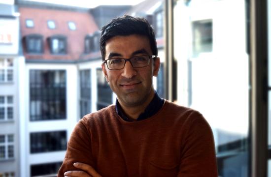 Portrait von Kefa Hamidi