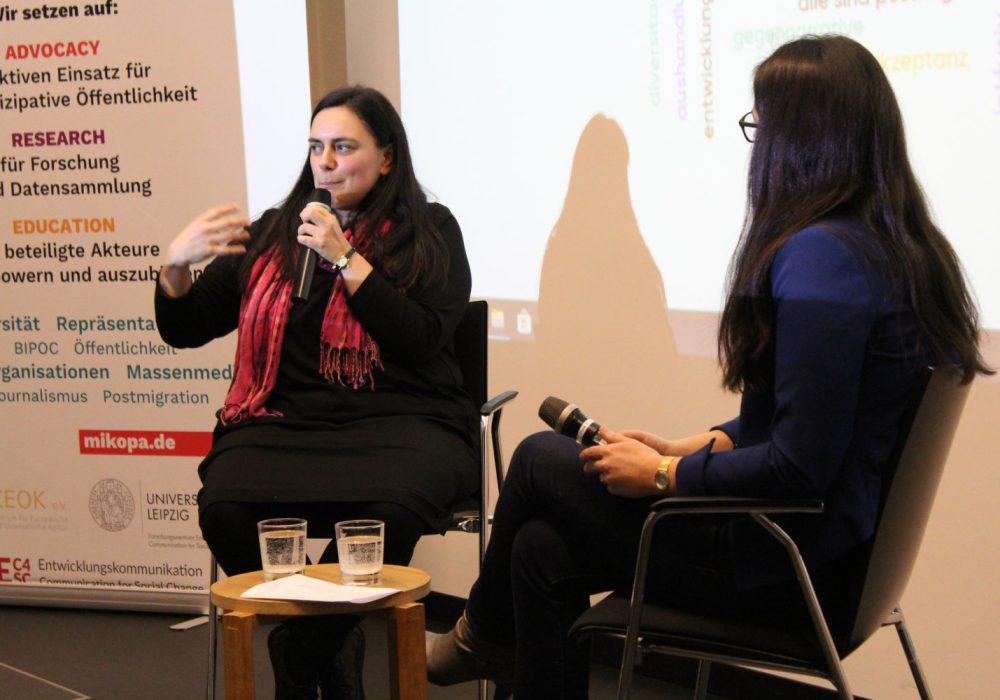 Dr. Viktorija Ratkovic sprach über migrantische Medien als Wegweiser