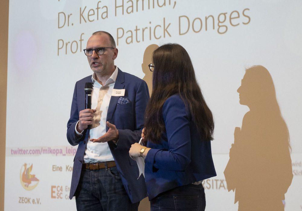 Prof. Dr. Patrick Donges vom IfKMW und