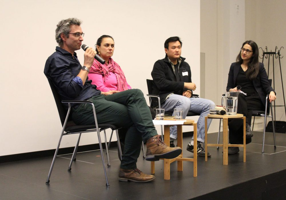 Am Nachmittag fand die Panel-Diskussion statt mit Marc Daniel von der LVZ,