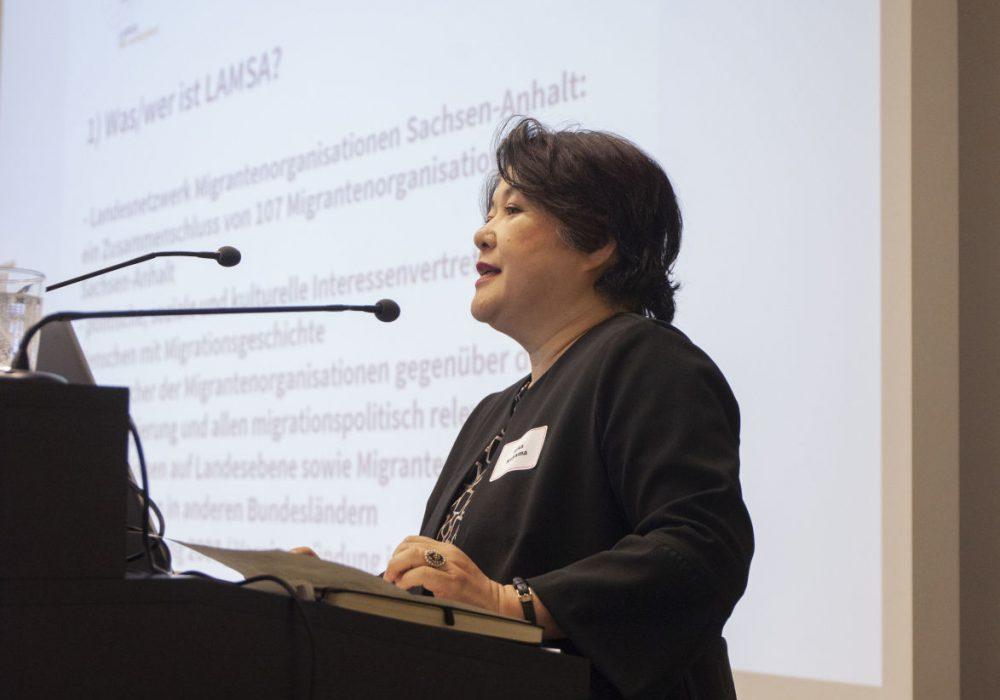 Mika Kaiyama vom LAMSA,